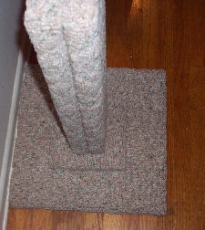 3bc, heavy-duty, extra wide berber scratching post 30""
