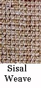 Sisal weave posts