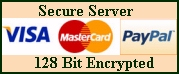We can process a secure credit card transaction.