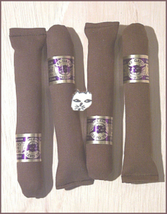 Four Catnip Cigars