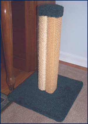 model MTS- dual sisal post