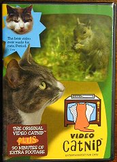 Video Catnip, Entertainment for Cats -   One DVD - Product Image