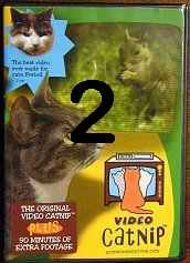 Video Catnip, Entertainment for Cats -   Two DVD - Product Image