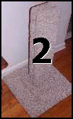 "Two Pak - 3BC Straight, heavy duty reinforced 30"" berber carpet scratching post - Product Image"